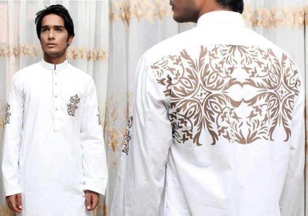 Embroidered Kurtas for Men