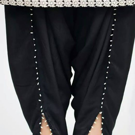 Cotton Tulip Pants