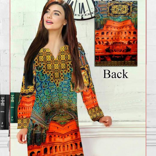 4-D Lawn Kurtis Available