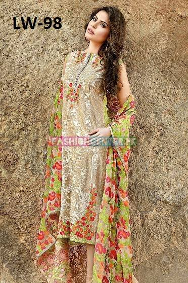 Gul Ahmed New Summer Lawn 2016