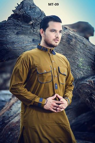 Stitched Men Kurta and Shalwar on Sale - Free Delivery