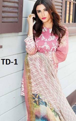Tina Durrani Master Lawn Eid Collection