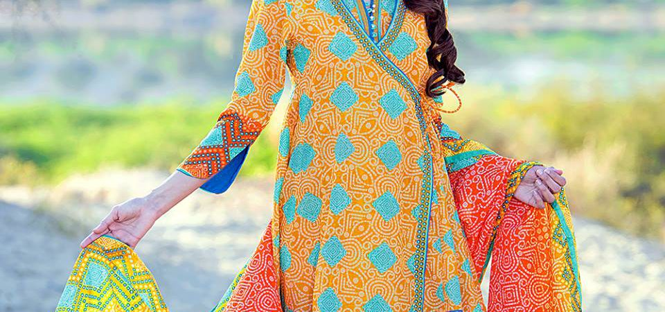 Gul Ahmed Lawn Latest Prints 2016