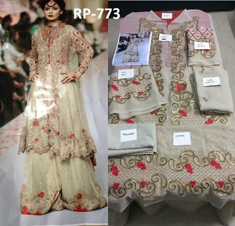 Zainab Chottani New Wedding Wear Suit
