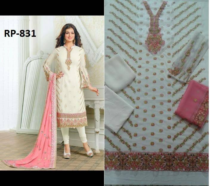 Vinay Designer Wear Heavy Embroidery Suit