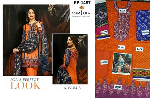 Asim Jofa Latest Winter Collection 2016