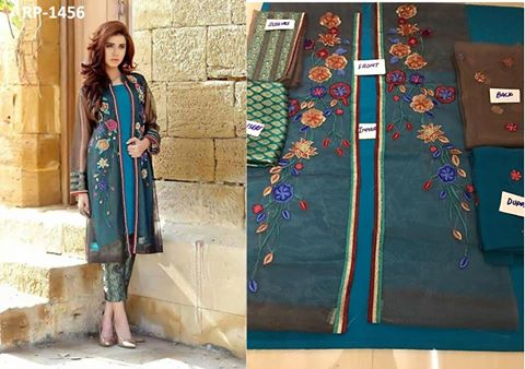 Ayesha Ahmed Latest Chiffon Dress