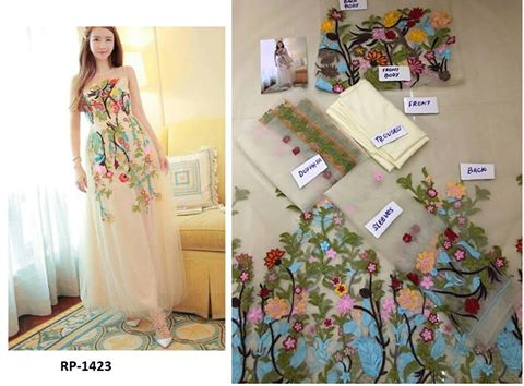Chinese Designer Wear Dress