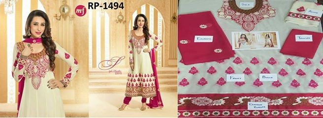 Karisma kapoor Designer Wear Dress