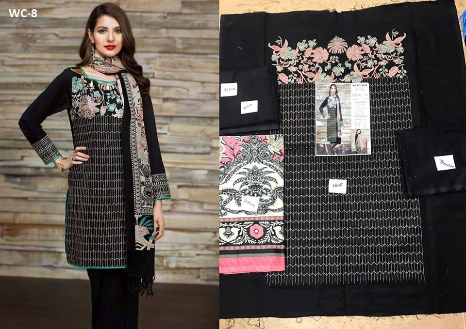 Khaadi New Winter Design Collection