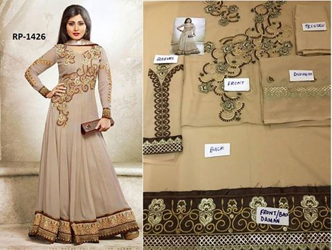 Latest Designer Wear Dress 2016
