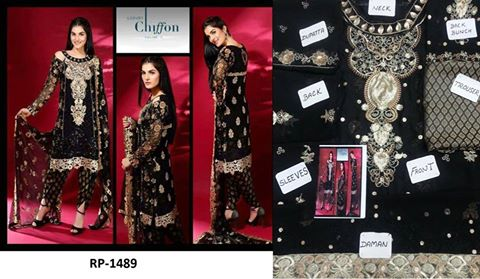 Latest Luxurious Chiffon Dress 2016