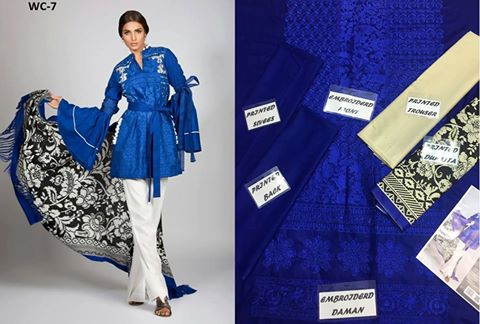 Sana Safinaz Winter Collection 2016