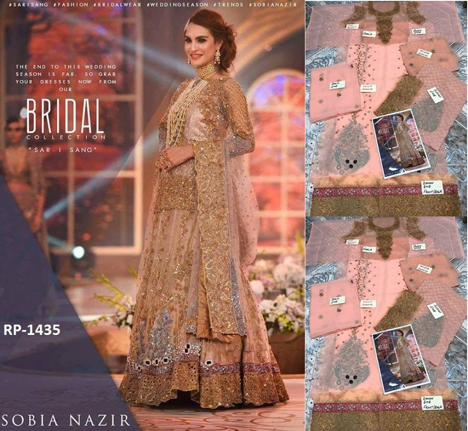Sobia Nazir Bridal Dress