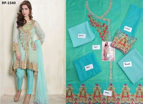 MARIA B Latest Chiffon Suit
