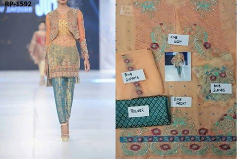 Zainab Chottani Party Wear Suit