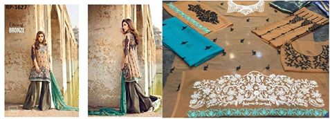 Iznik Embroidered Chiffon Collection