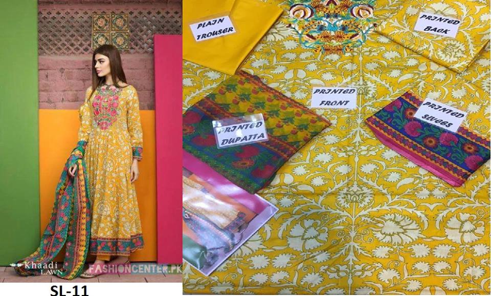 Khadi new Summer collection 2017