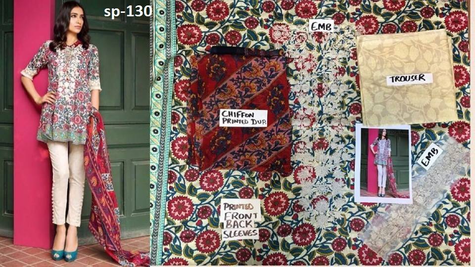 Latest Sana Safinaz Lawn 2017 Summer Collection