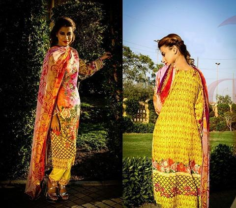 RIDA QAMMAR Lawn Collection 2017