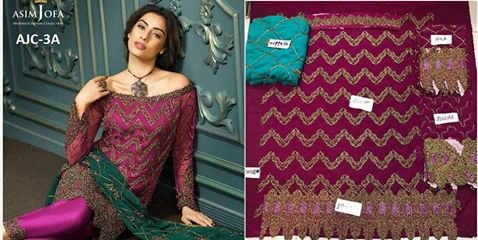 Asim Jofa Chiffon Collection