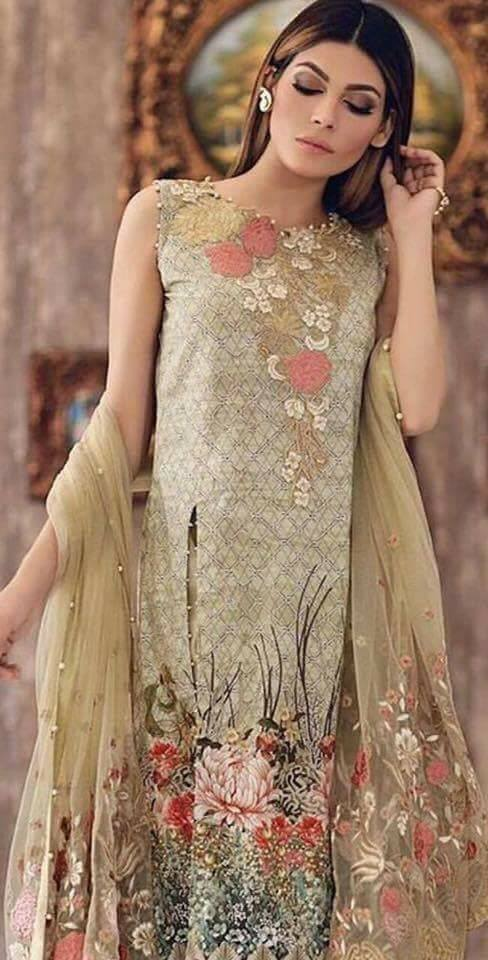 Noor by Sadia Eid lawn collection 2017