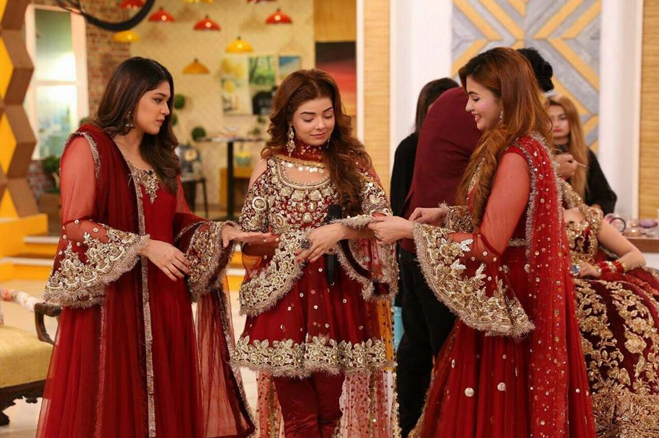 Zainab Chottani Wedding dress 2017