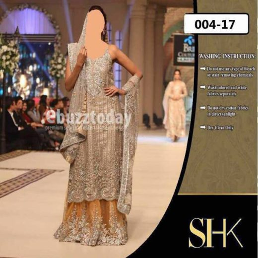 Zainab Chottani Bridal Full Suit on Net