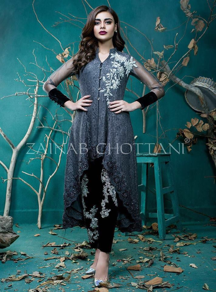 Zainab Chottan Latest Dress 2018