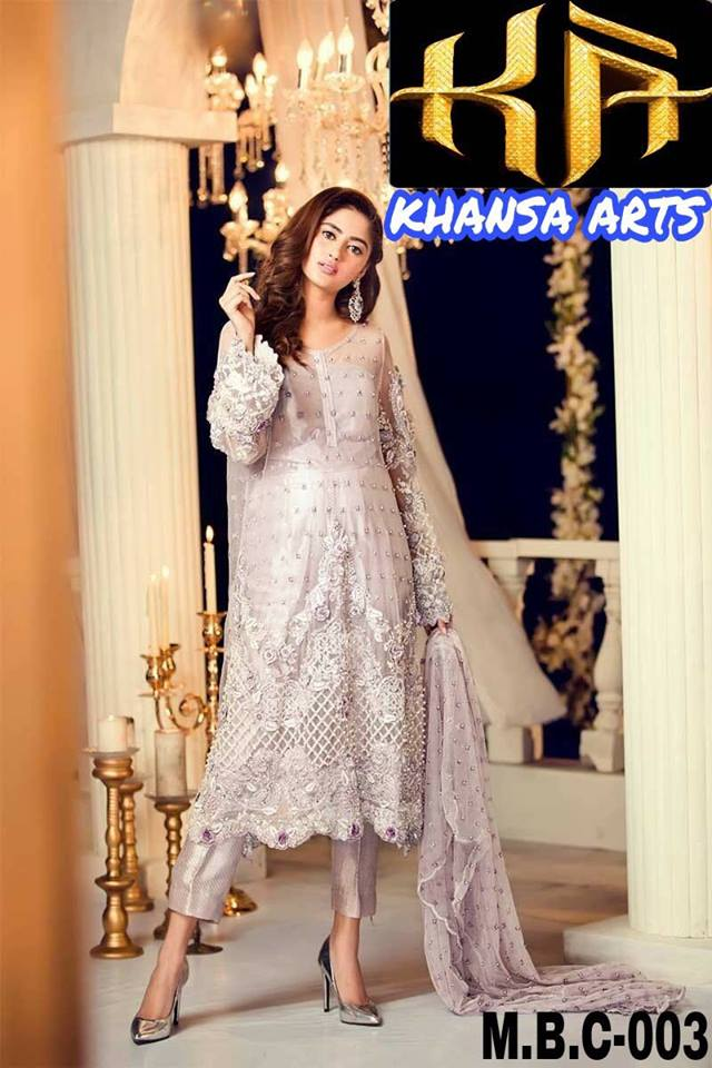 Maria B Latest Collection Dress 2018