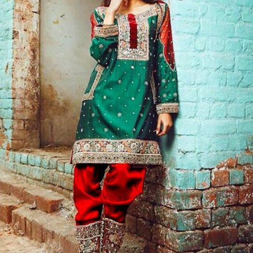 Nomi Ansari Silk Collection 2018