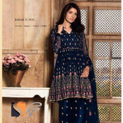 Pakistani dresses 2018 maxi