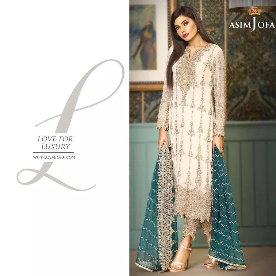 Asim Jofa New Dress 2018