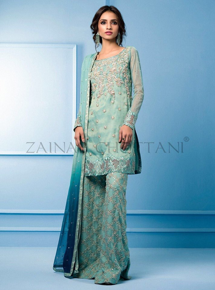 Zainab CHottani New Dress Collection 2018