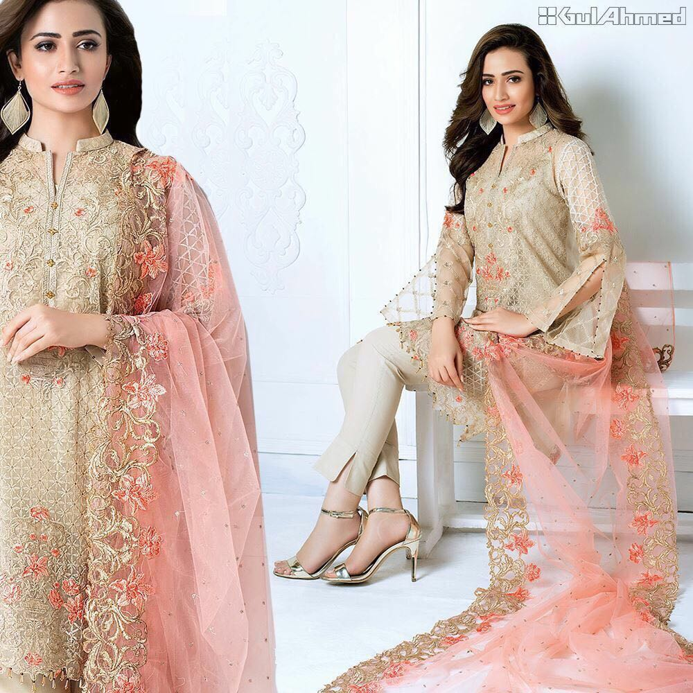 Gul Ahmed New Dress 2018