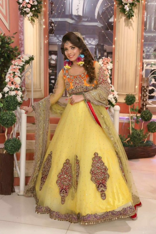 Kashees New Frock Deisgn 2018