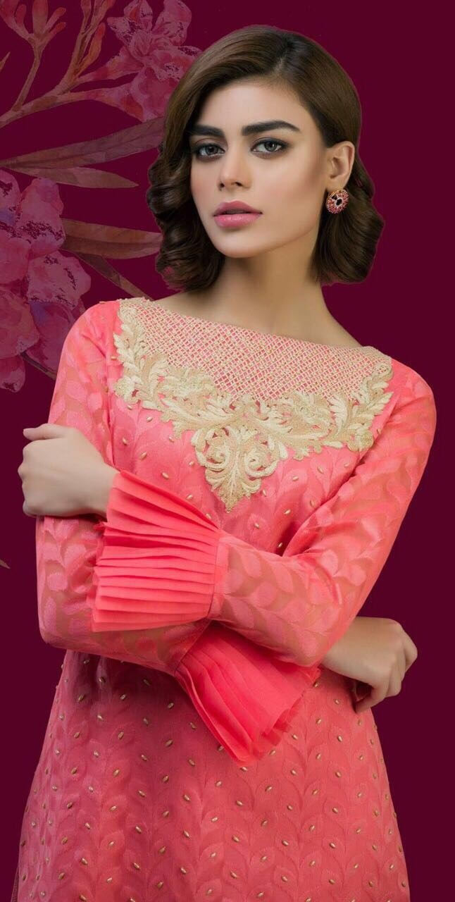 Nomi Ansari Chiffon Collection 2018