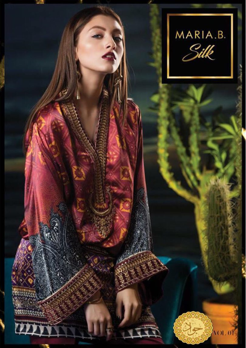 Maria-B Silk Collection 2018