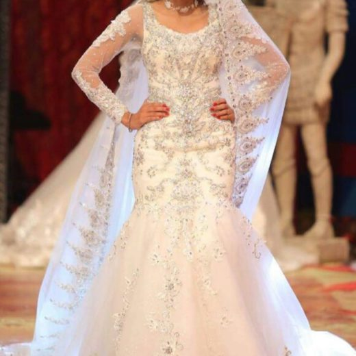 Kashee White Gold Bridal 2018