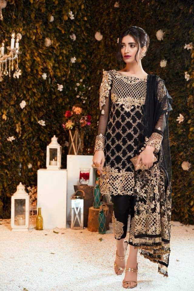 Gulal Chiffon Wedding Dress 2018