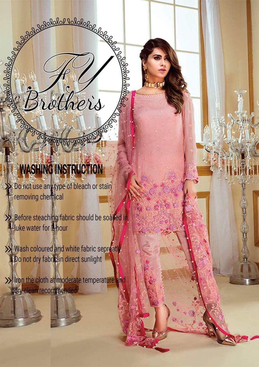 Gulaal Chiffon Collection 2018