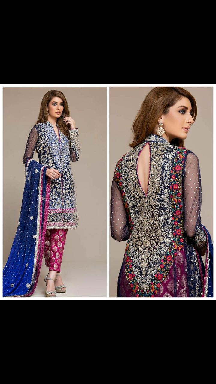 Zainab chotani New Dress 2018