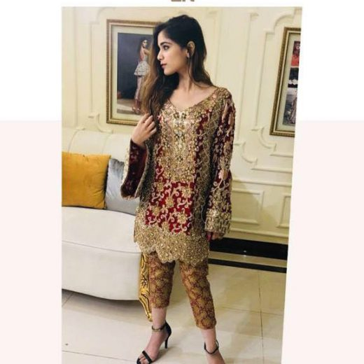 Erum Khan Latest Dress 2018