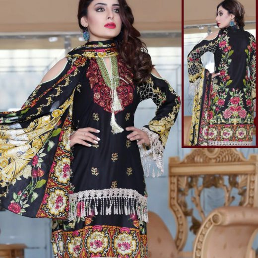 Zeenat Chottani Lawn collection 2018