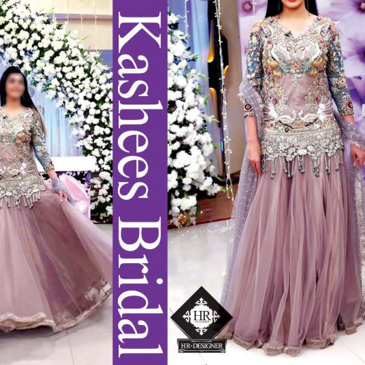Kashees bridal Full suit on net 2018