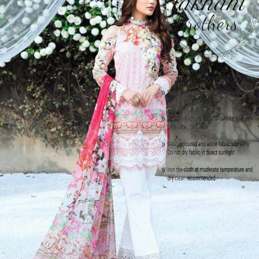 Nomi Ansari Bridal Dress 2018