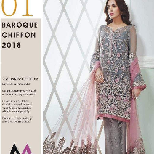 Baroque Chiffon Collection 2018