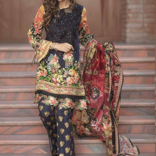 Firdous Lawn collection 2018