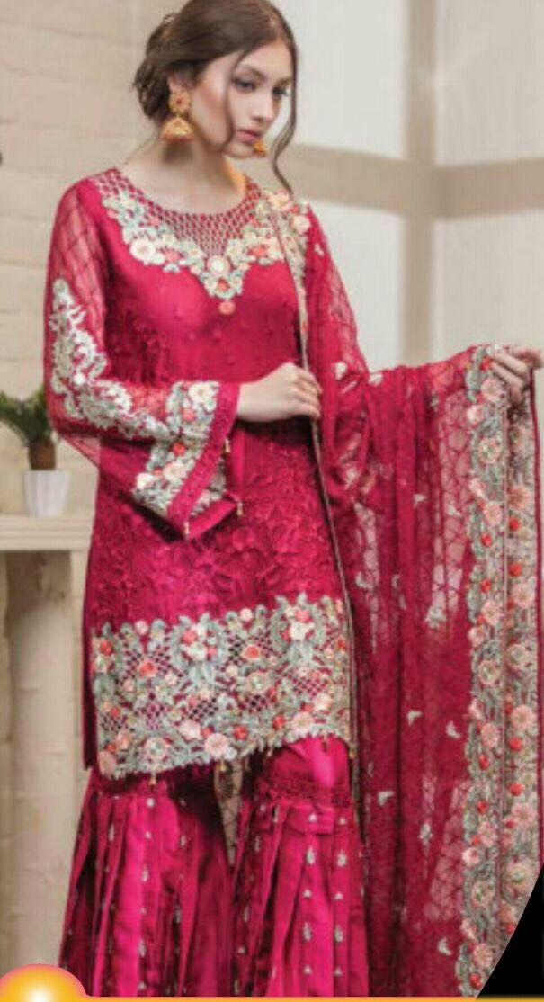 M M CHiffon Embroidered Collection