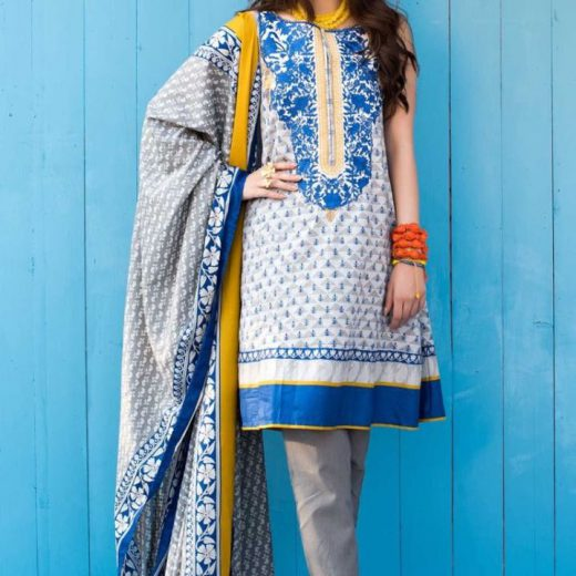 Khaadi Lawn Suit Volume 1 2018